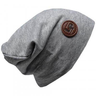 L&P Tuque gris uni 3 saisons