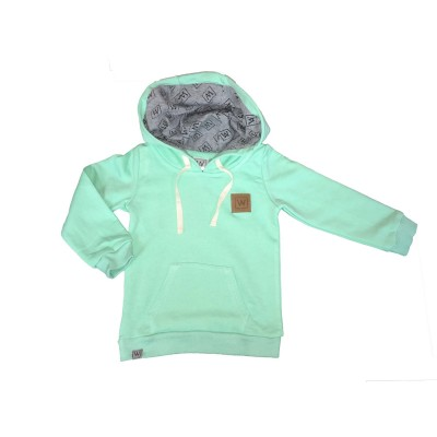 Will&You Hoddies Menthe